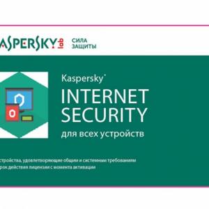 Kaspersky Internet Security Card 5 Dev 1 Year Renewal