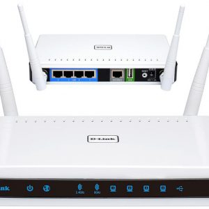 Wi-Fi AC Dual Band D-Link Router, «DIR-825/EU/R1B», 1200Mbps, Gbit Ports, MU-MIMO, USB2.0