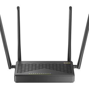 Wi-Fi AC Dual Band D-Link Router, «DIR-825/GFRU/R3A», 1167Mbps, SFP, Gbit Ports, MU-MIMO, USB2.0