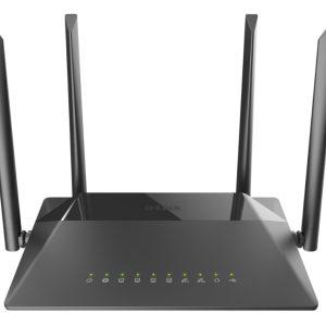 Wi-Fi AC Dual Band D-Link Router, «DIR-825/RU/R2A», 1167Mbps, Gbit Ports, MU-MIMO, USB2.0