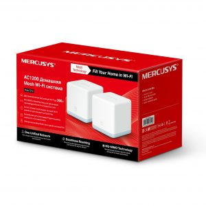Whole-Home Mesh Dual Band Wi-Fi AC System MERCUSYS, «Halo S12(2-pack)», 1167Mbps,MU-MIMO,up to 260m3