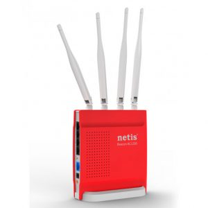 Wi-Fi AC Dual Band Netis Gaming Router, «WF2681», 1200Mbps, Gbit Ports, MIMO