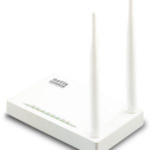 Wi-Fi N Netis Router, «WF2419E», 300Mbps, MIMO, 2x5dBi Fixed Antennas, Dual Access,  IPTV