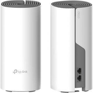 Whole-Home Mesh Dual Band Wi-Fi AC System TP-LINK, «Deco E4(2-pack)», 1200Mbps, MU-MIMO, up to 260m2