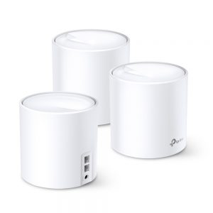 Whole-Home Mesh Dual Band Wi-Fi AX System TP-LINK, «Deco X20(3-pack)», 1800Mbps, MU-MIMO, Gbit Ports