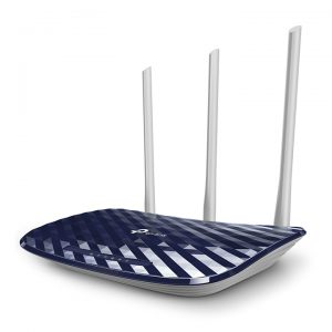 Wi-Fi AC Dual Band TP-LINK Router, «Archer C20», 750Mbps