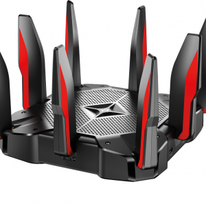 Wi-Fi AC Tri-Band Gaming TP-LINK Router, «Archer C5400X», 5400Mbps, MU-MIMO, Gbit Ports, 2xUSB3.0