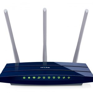 Wi-Fi N TP-LINK Router, «TL-WR1043ND», 450Mbps, Gbit Ports, USB2.0, MIMO, 3x5dBi Detachable Antennas