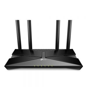 Wi-Fi AX Dual Band TP-LINK Router «Archer AX20», 1800Mbps, OFDMA, Gbit Ports, USB2.0