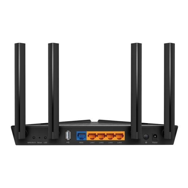 "Wi-Fi AX Dual Band TP-LINK Router ""Archer AX20"", 1800Mbps, OFDMA, Gbit Ports, USB2.0"