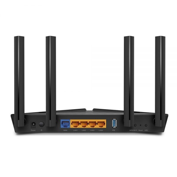 "Wi-Fi AX Dual Band TP-LINK Router ""Archer AX50"", 2976Mbps, OFDMA, Gbit Ports, USB3.0"