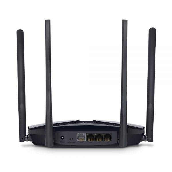 """Wi-Fi AX Dual Band Mercusys Router """"MR70X"""", 1800Mbps, OFDMA, MU-MIMO, 3xGbit Ports"""