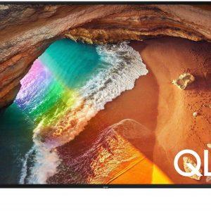 75″ LED TV Samsung QE75Q60AAUXUA, Black