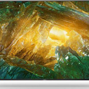 85″ LED TV SONY KD85XH8096BAEP, Black