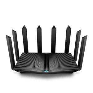Wi-Fi AX Tri-Band TP-LINK Router «Archer AX90», 6600Mbps, OFDMA, MU-MIMO, Gbit Ports, USB3.0, USB2.0