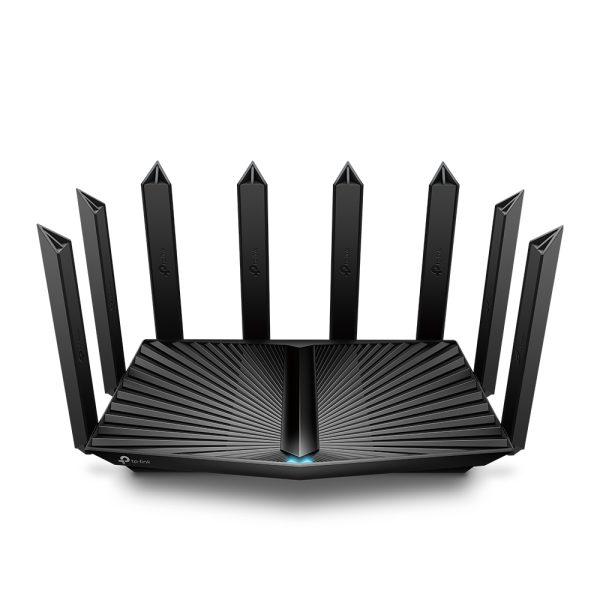 "Wi-Fi AX Tri-Band TP-LINK Router ""Archer AX90"", 6600Mbps, OFDMA, MU-MIMO, Gbit Ports, USB3.0, USB2.0"