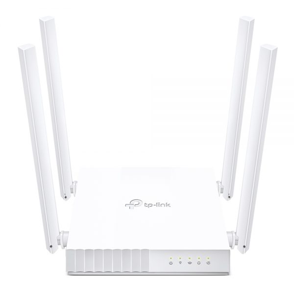 """Wi-Fi AC Dual Band TP-LINK Router, """"Archer C24"""", 750Mbps, 4xAntennas"""