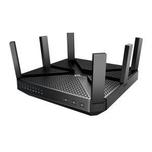 Wi-Fi AC Tri-Band TP-LINK Router, «Archer C4000», 4000Mbps, MU-MIMO, Gbit Ports, USB3.0, USB2.0