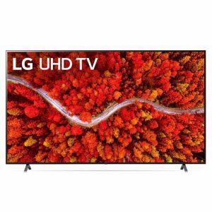 75″ LED TV LG 75UP80006LA, Black