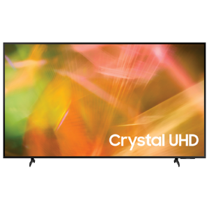 75″ LED TV Samsung UE75AU8000UXUA, Black